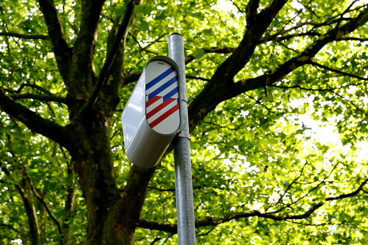 flitspalen in Breda