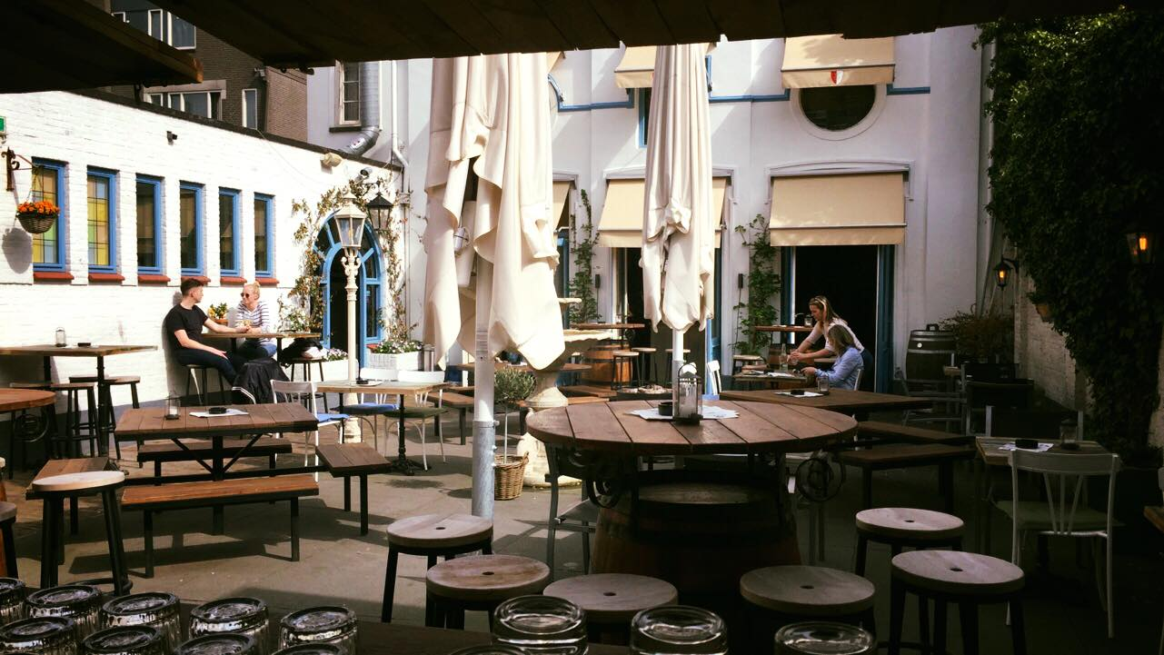 terrassen in Breda