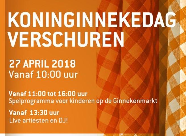 Koningsdag 2018 in Breda