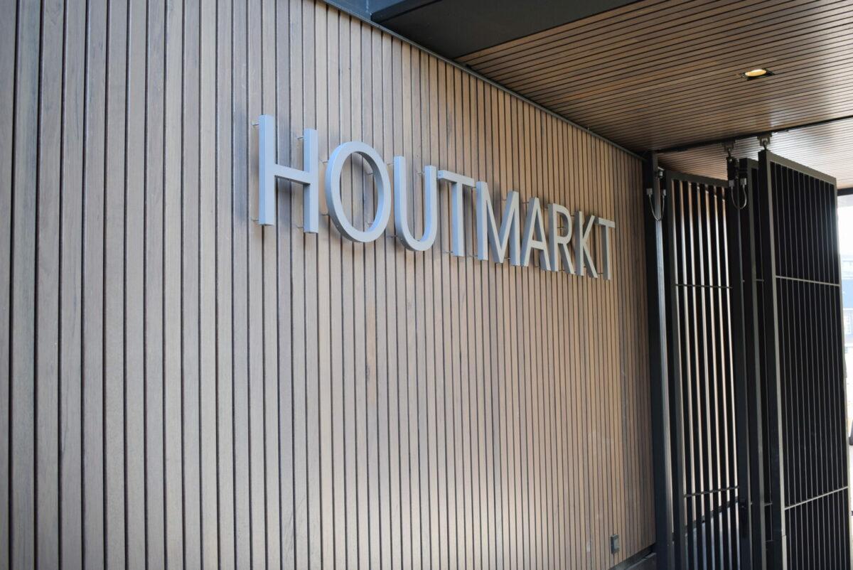 Houtmarkt letters