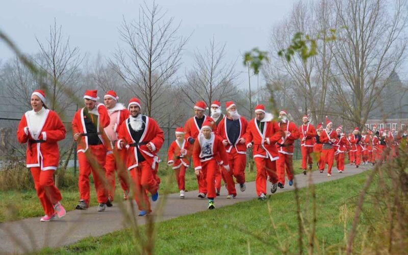 santa run (uit persbericht)