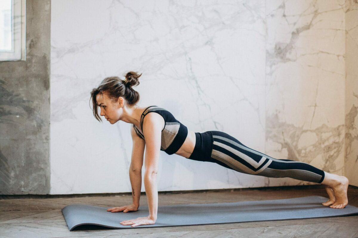 yoga sporten vanuit huis