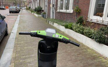 elektrische scooter zonder spiegel