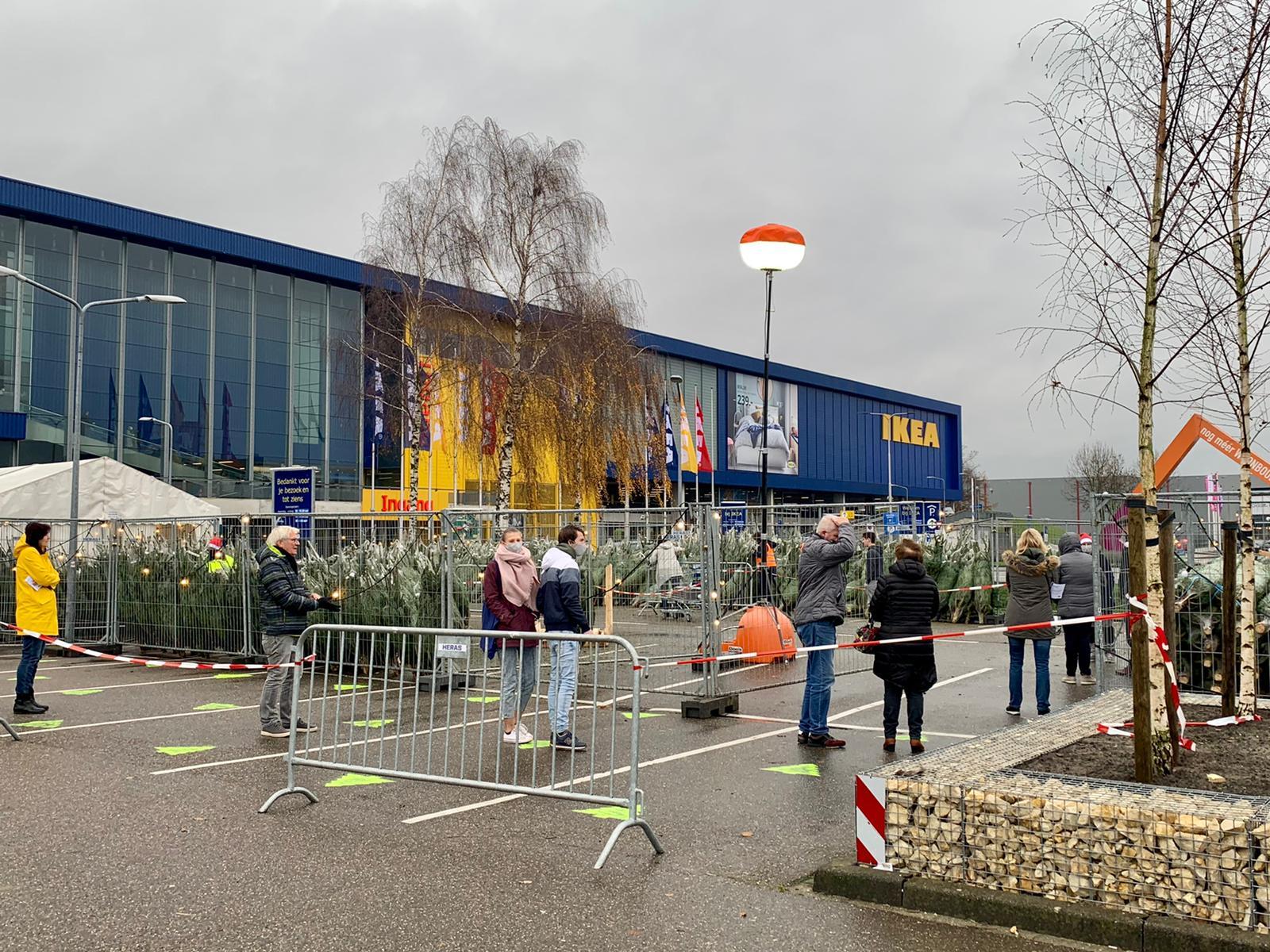 IKEA kerstbomen