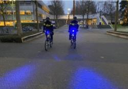 blauwe verlichting