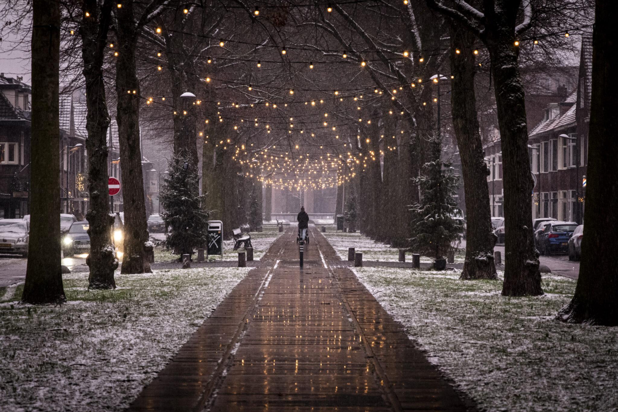 sneeuw speelhuislaan winter