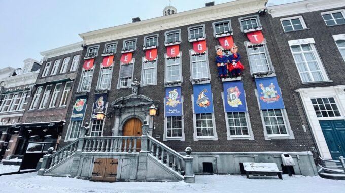 stadhuis kielegat sneeuw