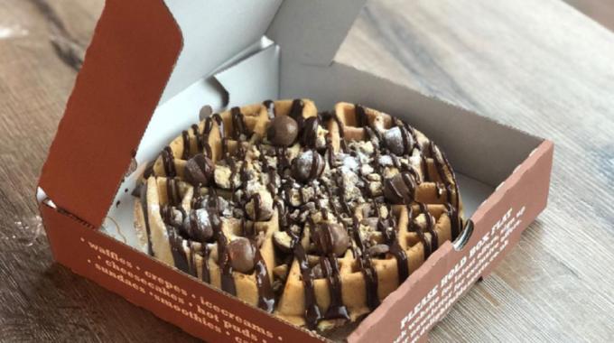 delightful desserts wafel