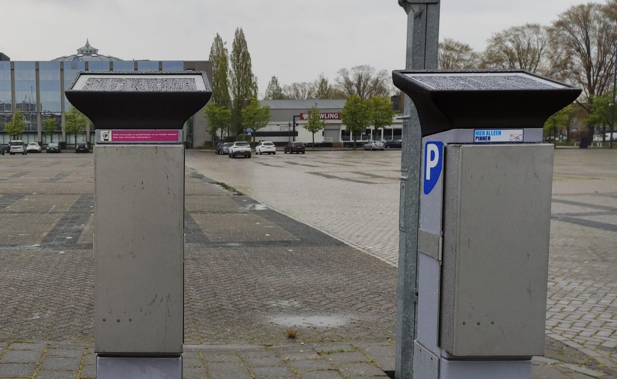 parkeerautomaat chasséveld