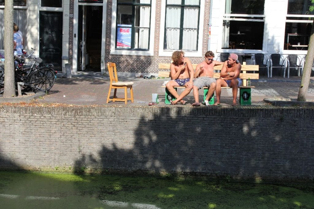 Delft gestudeerd