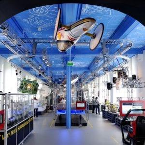 Het Science Centre van de Technische Universiteit Delft