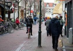 winkelstraat Delft