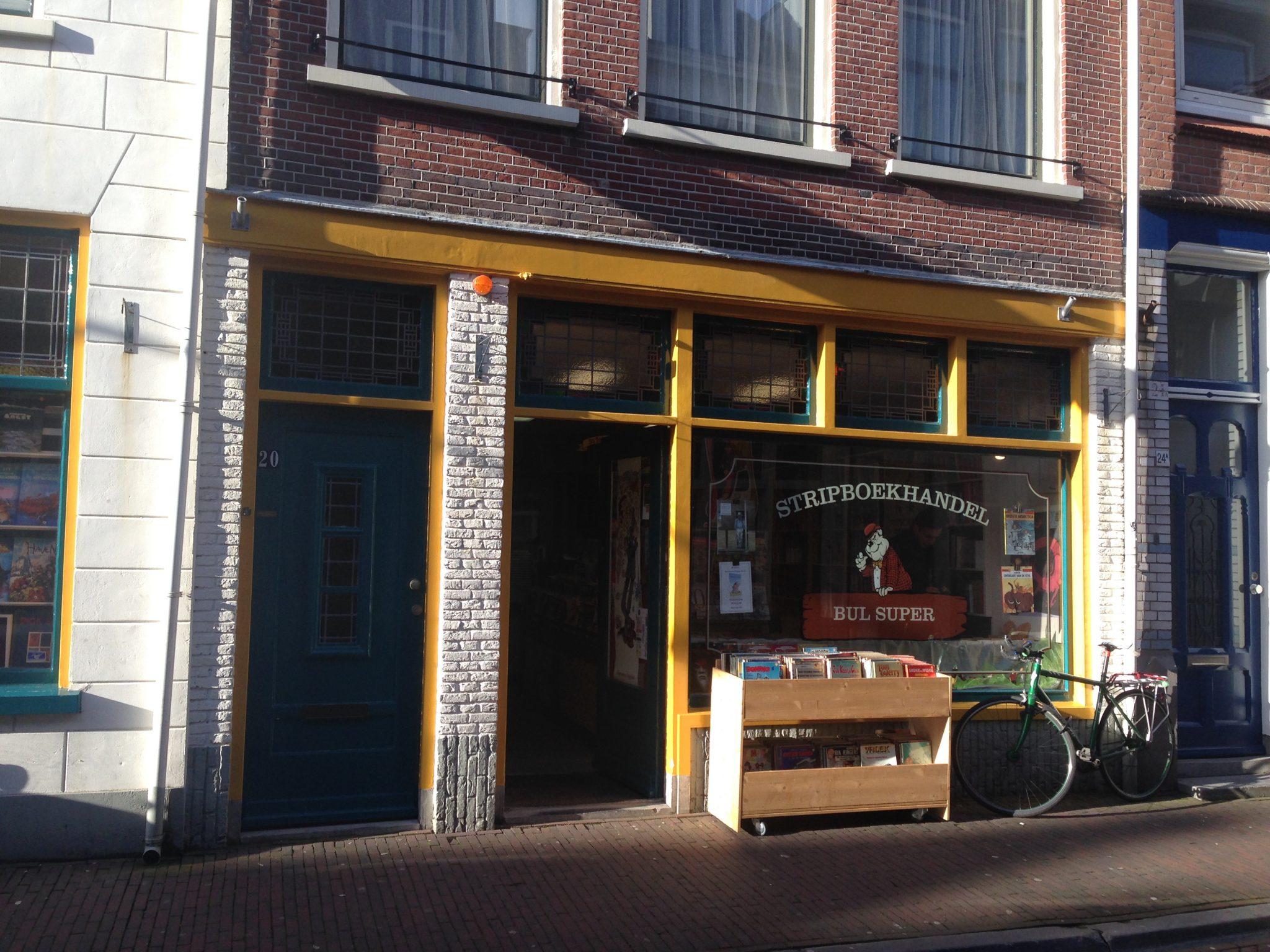 Bul Super Stripwinkel Delft