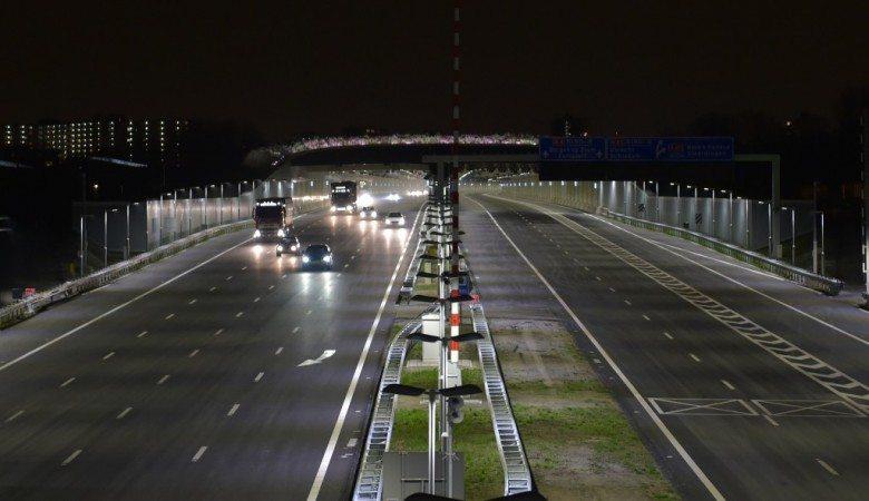 Snelweg a4 ketheltunnel Delft
