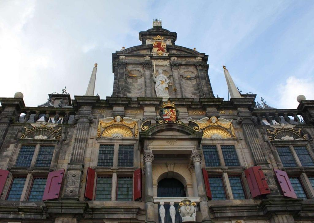 Stadhuis Markt Delft gemeenteraad