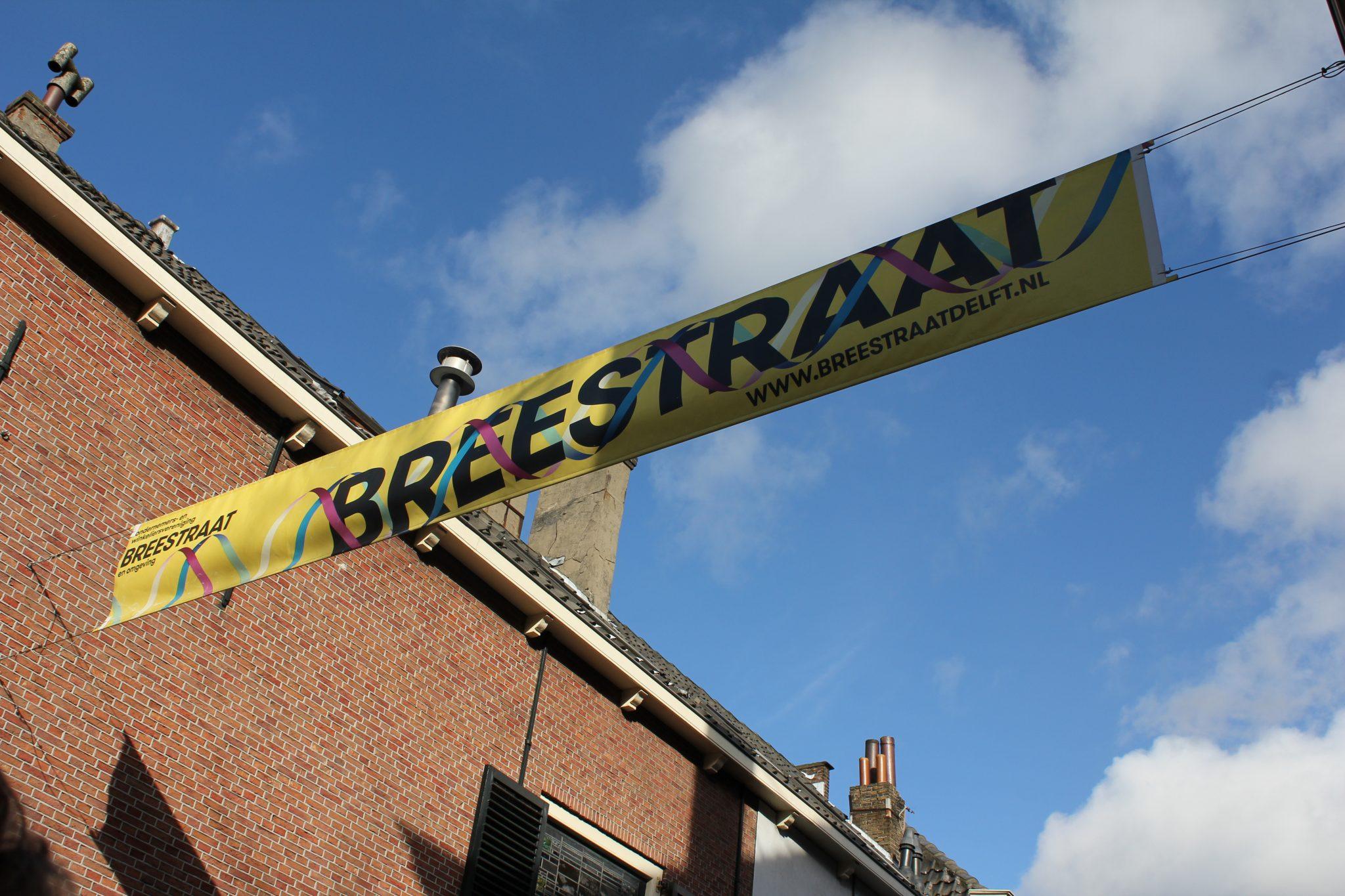 Breestraat Delft winkelstraat winkelen winkels winkeliers