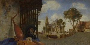 Carel Fabritius Gezicht op Delft uitstapjes Delft