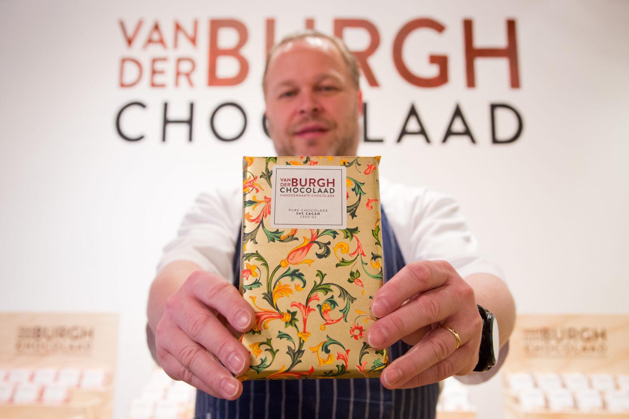 chocoladereep - Van der Burgh Chocolaad
