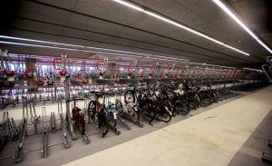 Fietsenstalling station Delft