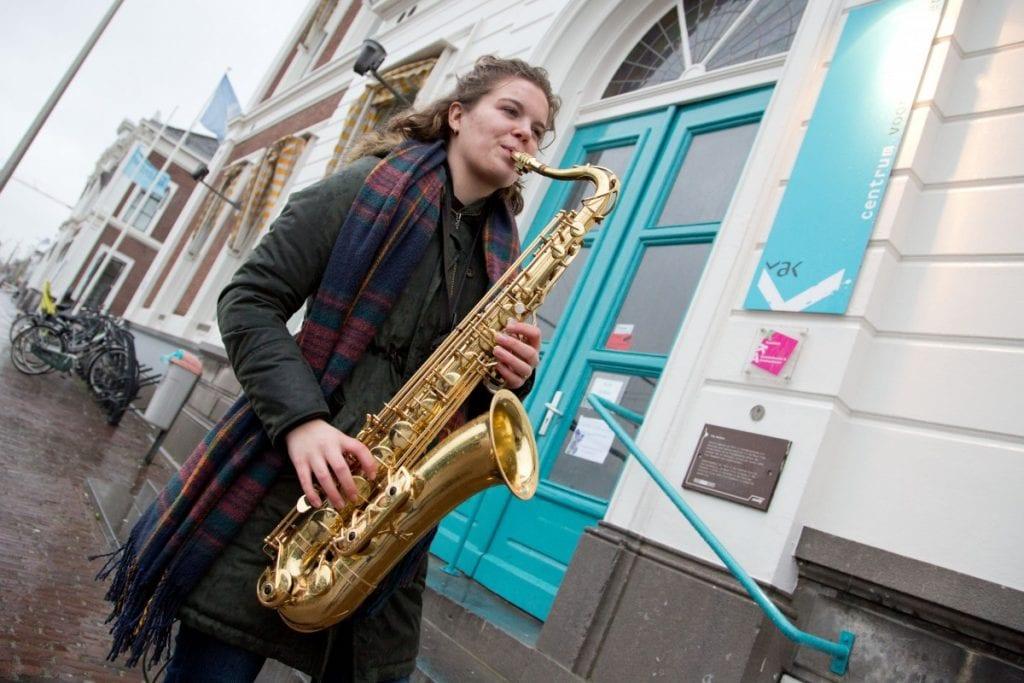 Saxofoon Fenna Volmer