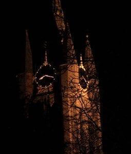 De Oude Jan bij nacht