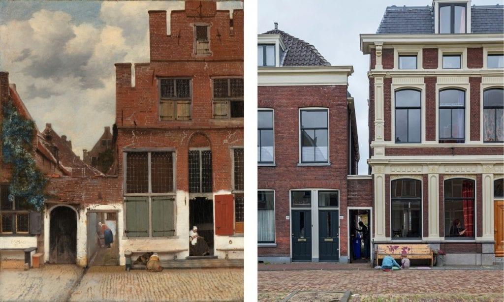 ANP Straatje Vermeer