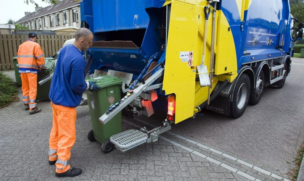 afvalcontainer vuilnis