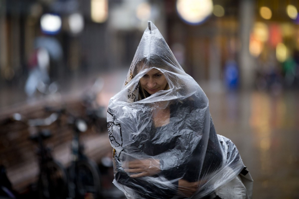 Regen poncho