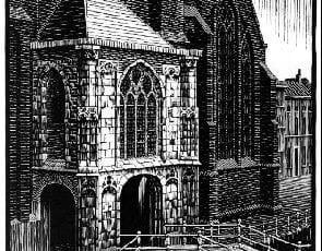 escher oude kerk delft