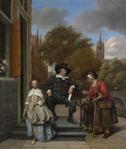 burgemeester Delft Jan Steen