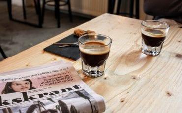 Barbaar Delft koffie drinken in delft