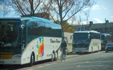 Touringcars Delft Zuidplantsoen (1)