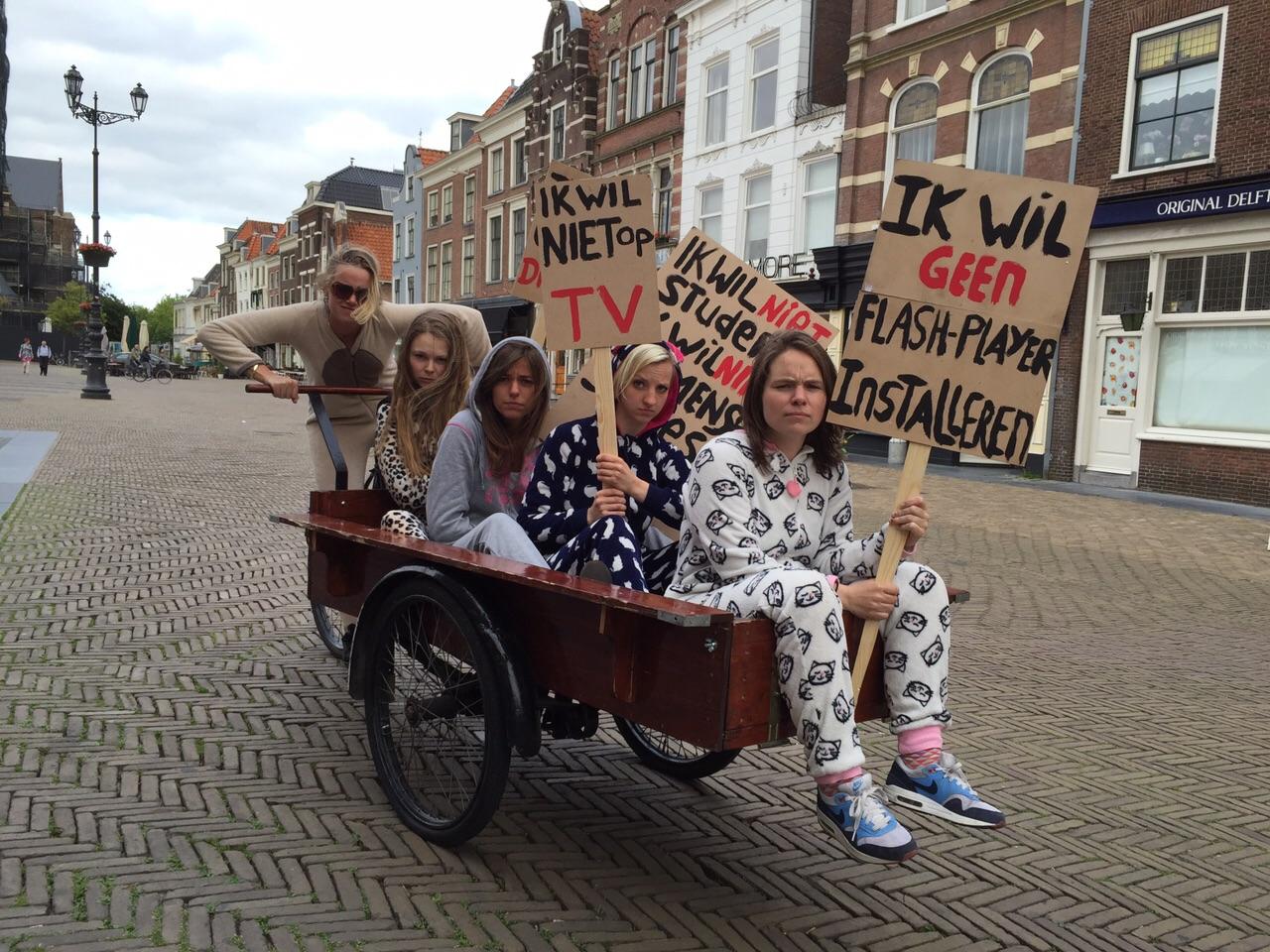 Delft Fringe De Zusjes van rietveld theater