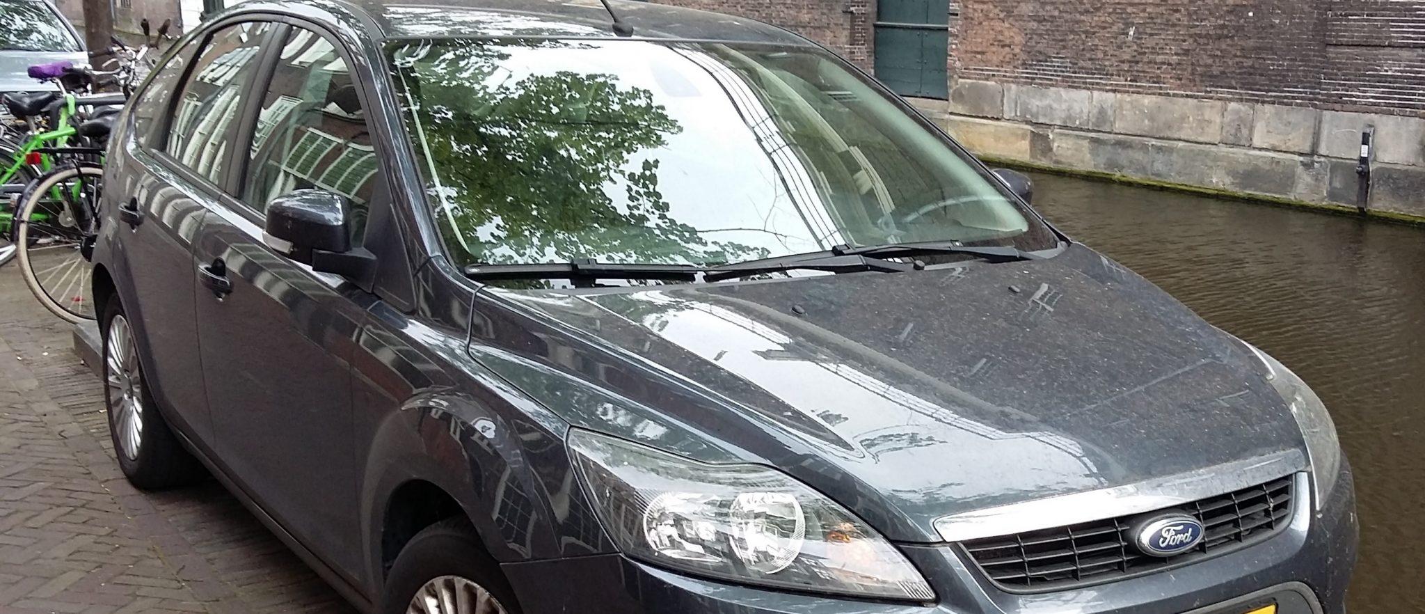 stuifmeel auto