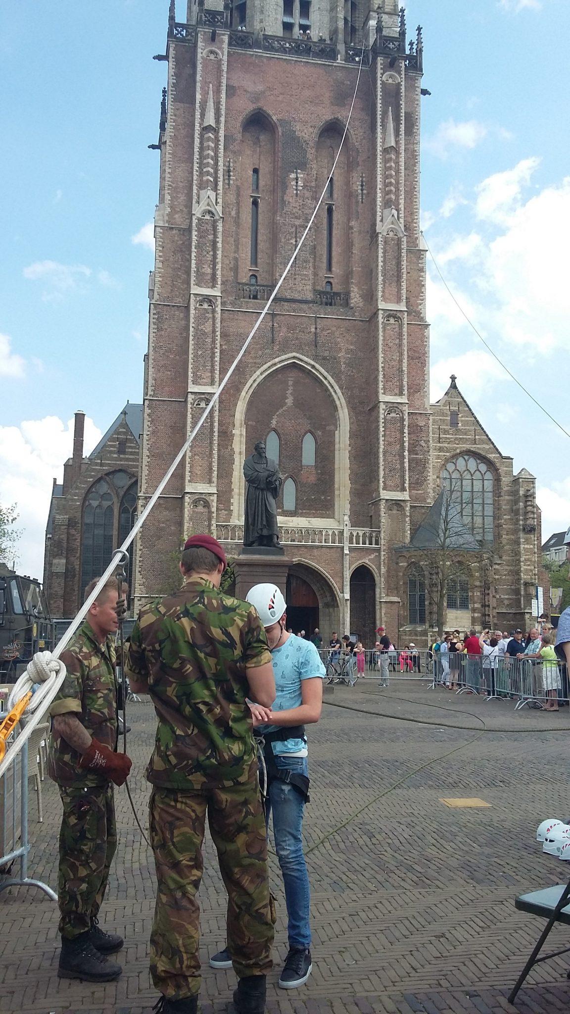 Tokkelen delft Nieuwe Kerk oma