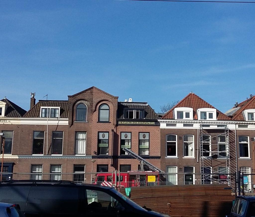 brand in studentenhuis Delft