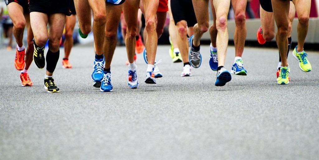 Wedstrijden hardlopen kopjesloop