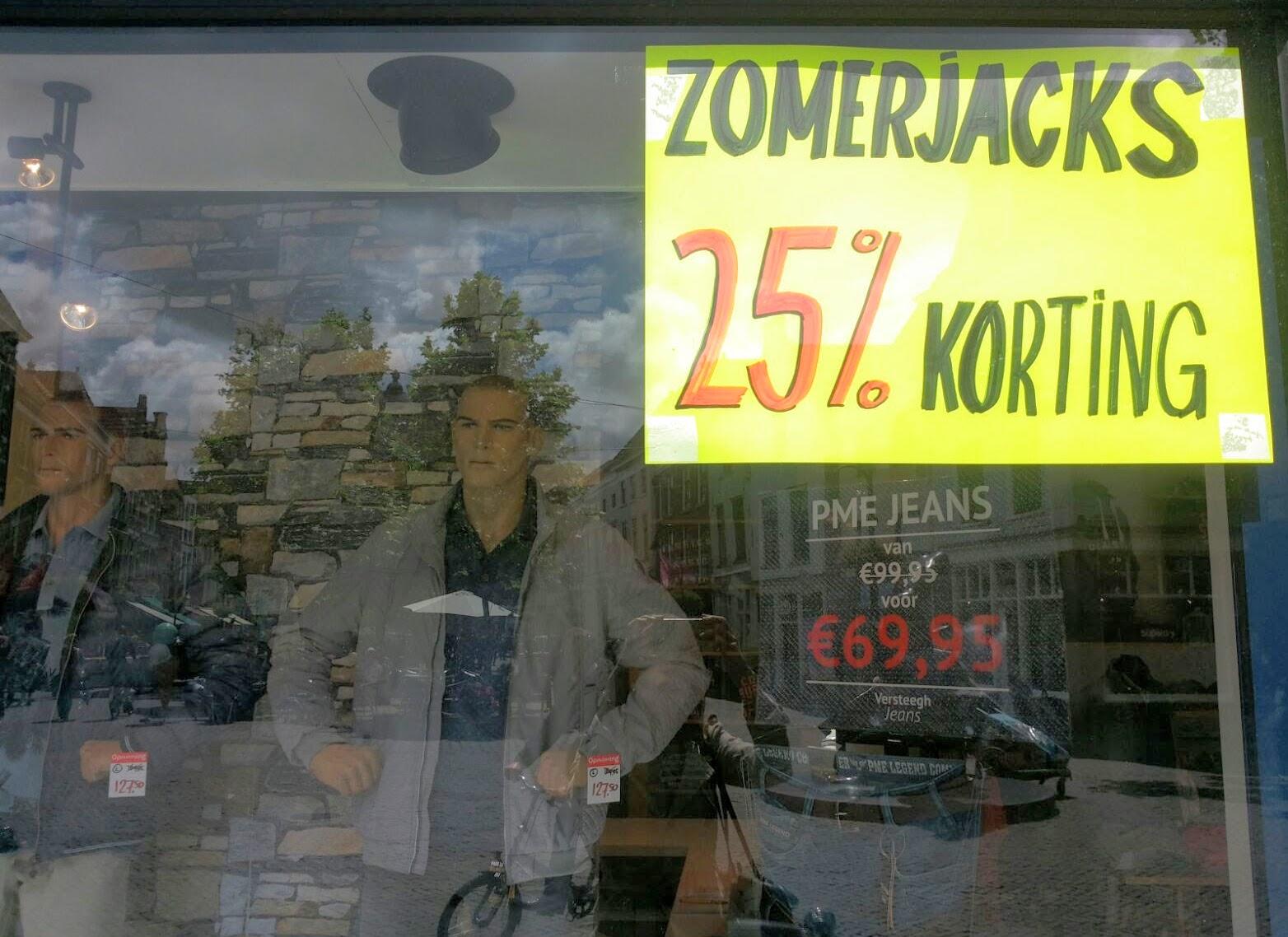 Uitverkoop in Delft