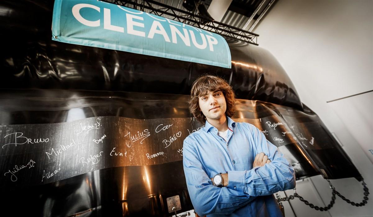 Boyan Slat Ocean Cleanup Delft