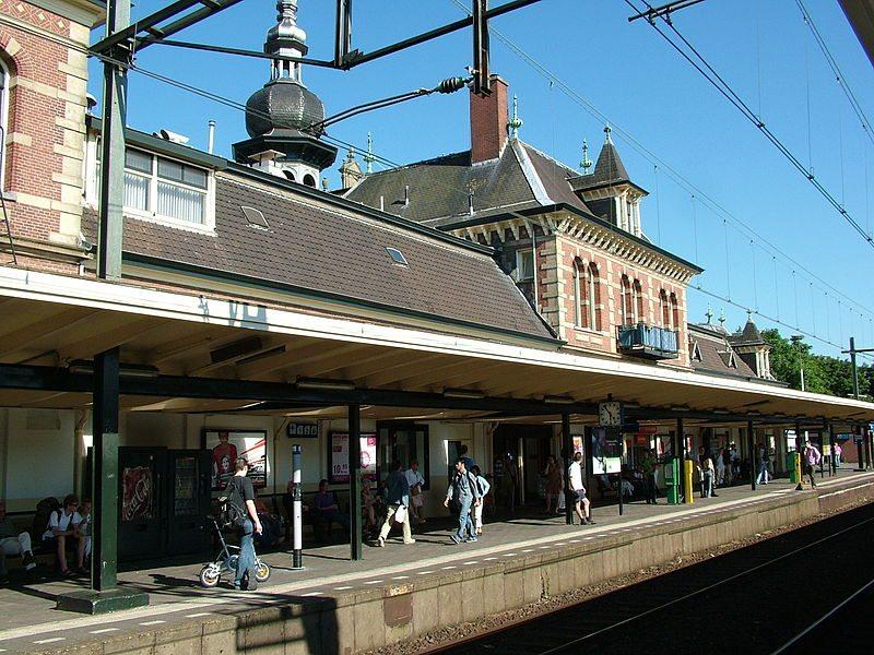 Station Delft oud