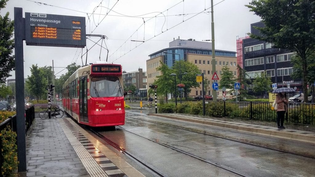 Tram 1 Delft