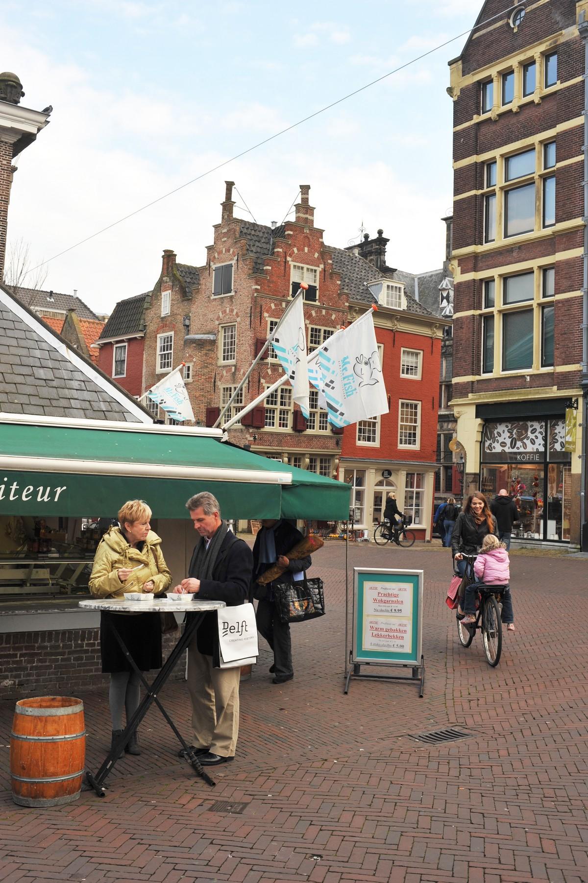 Visbanken Delft