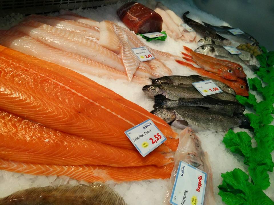 Vishandel de zilte zee