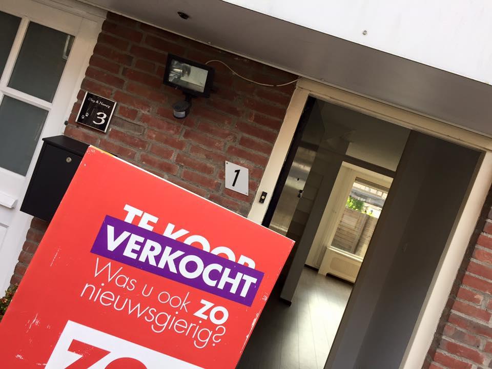 zo.nl koopwoningen te koop bord courtage