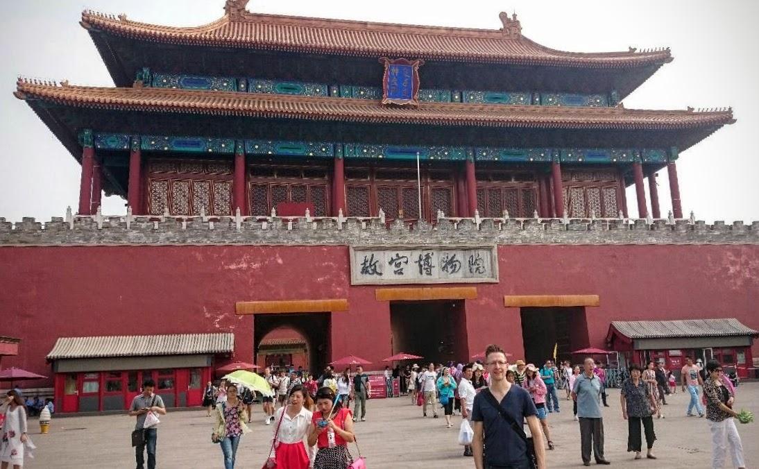 Sander in China