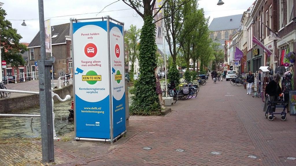 Kentekentoegang Delft