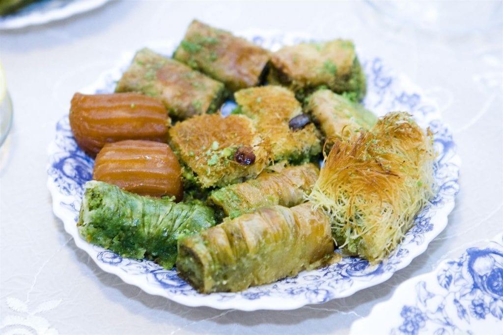 Baklava suikerfeest