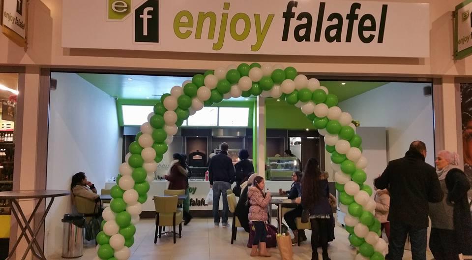 enjoy falafel