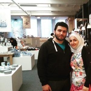 Ahmed en zijn vrouw