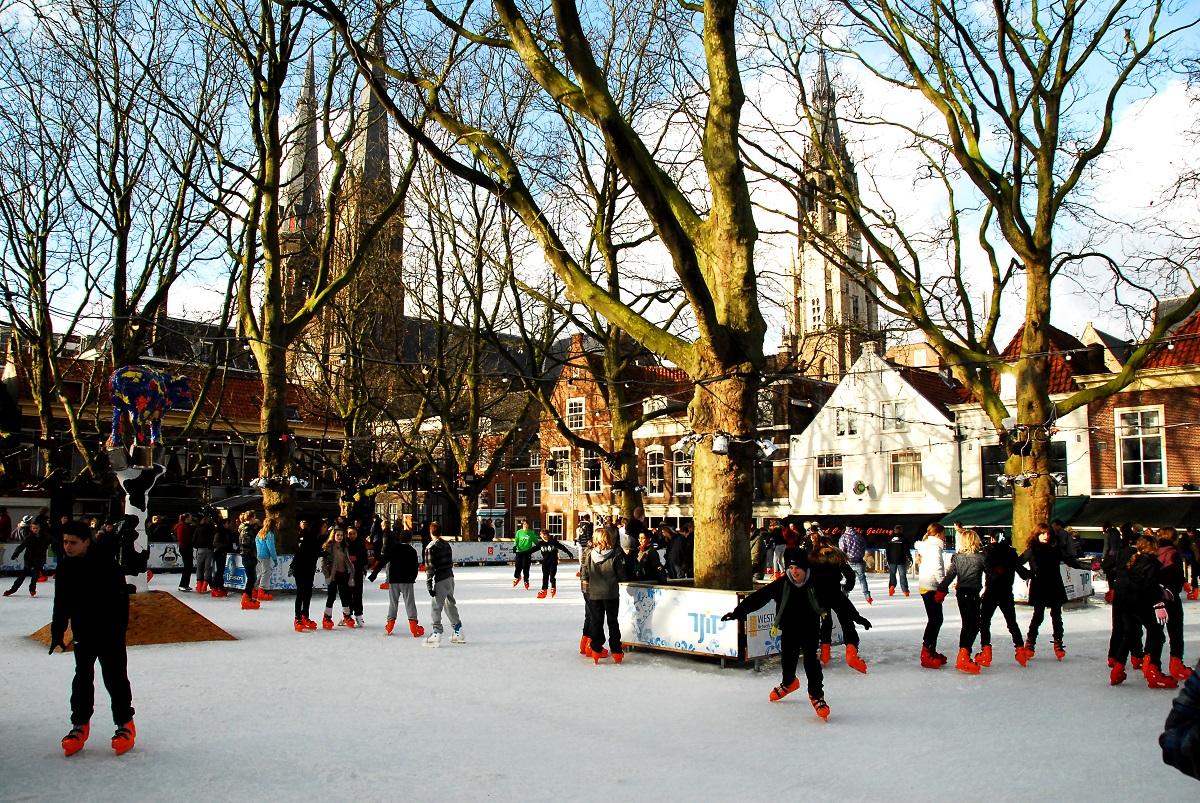 schaatsbaan delft beestenmarkt